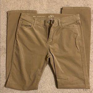 Ann Taylor Loft Corduroy Bootcut Pants